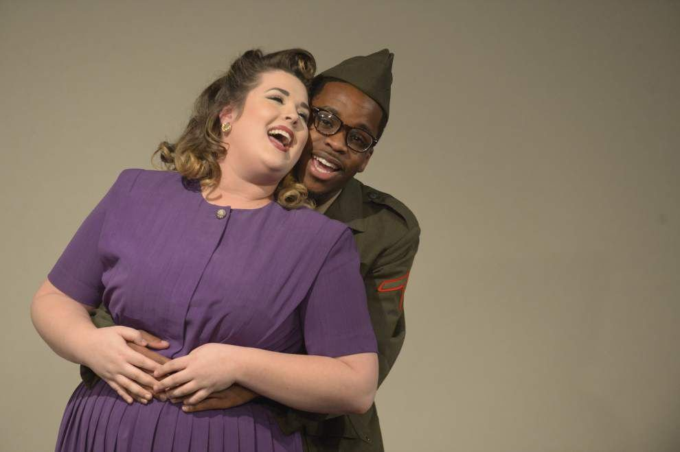 2 LSU alumni bring love story to the stage _lowres