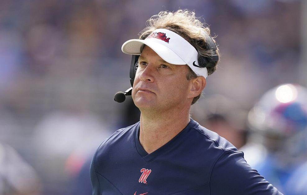 Ole Miss coach Lane Kiffin was asked about Ed Orgeron and LSU. Here's what he said.
