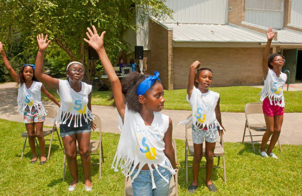 BREC summer camp at Mayfair Park fosters new friendships _lowres