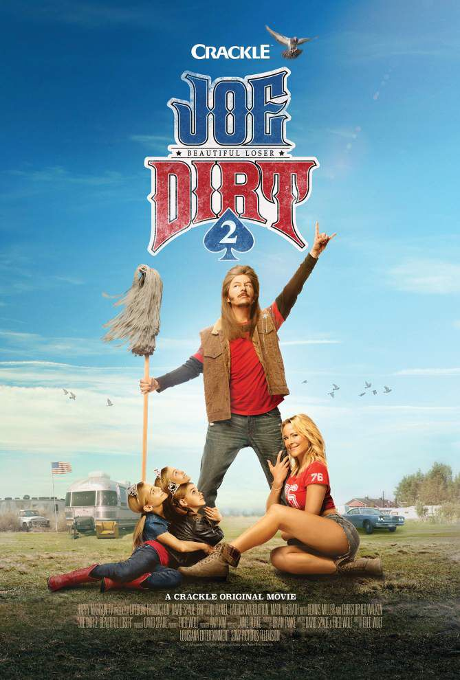 David Spade turns out 'Joe Dirt' sequel for the fans _lowres