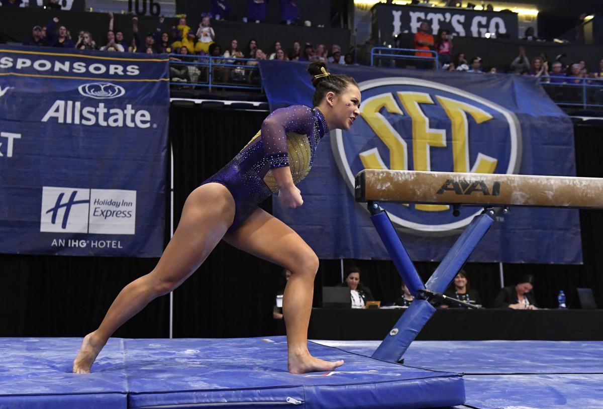 Sarah Finnegan's perfect floor routine