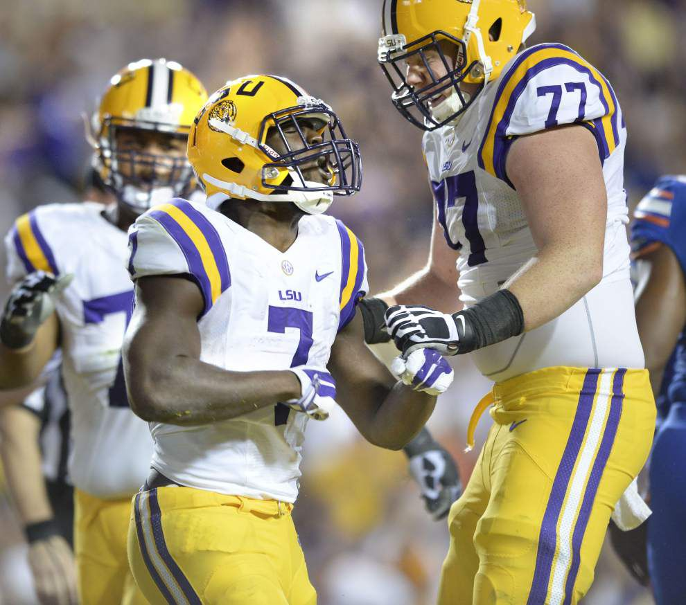From boast to toast: Florida fails to back up claim that LSU's Leonard Fournette 'was nothing we can't stop' _lowres