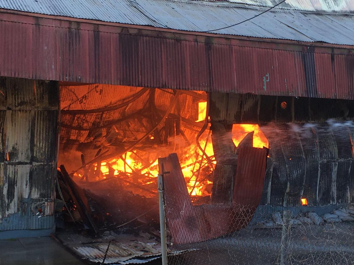 Bayou St John fire