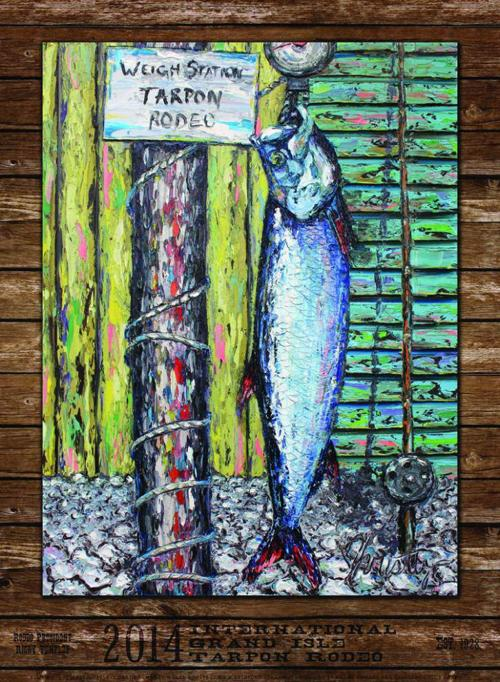 Tarpon Rodeo poster for July 2014 _lowres