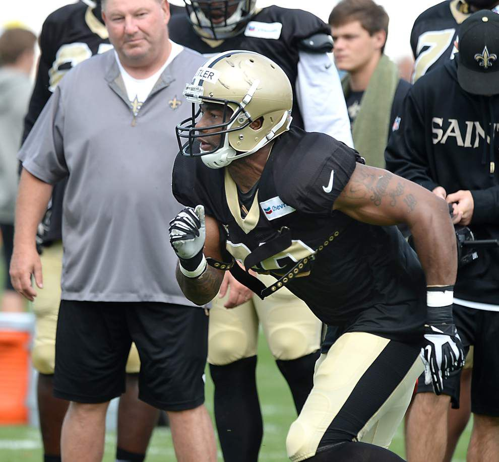 Photos: N.O. Saints training camp action in West Virginia _lowres