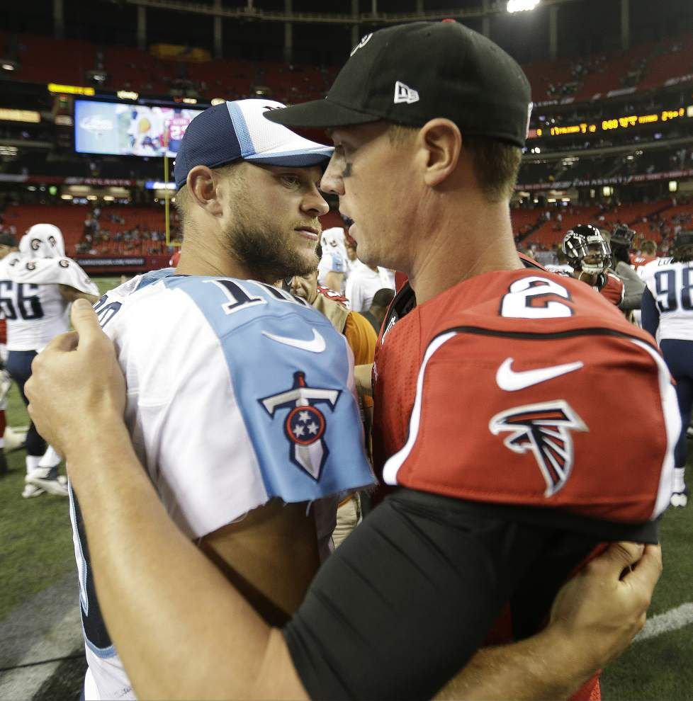 The Atlanta Falcons aren't fazed by their recent struggles against the Saints _lowres