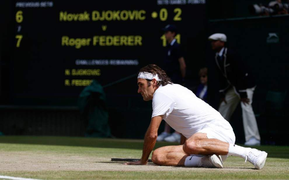Novak Djokovic outlasts Roger Federer for his second Wimbledon title _lowres