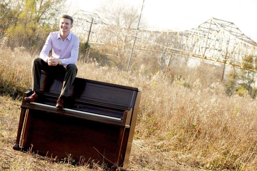 Pianist Michael McDowell will be 'playing on the edge' in April 28 performance at Manship Theatre _lowres