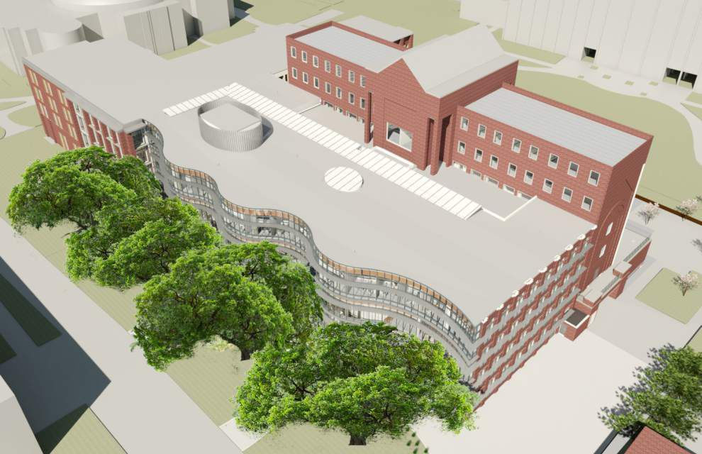 Tulane business school plans $35 million expansion to unite buildings at Uptown campus _lowres