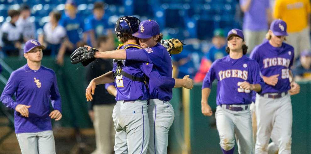 Former LSU great Doug Thompson says Tigers fans should be excited about their young talent, depth _lowres