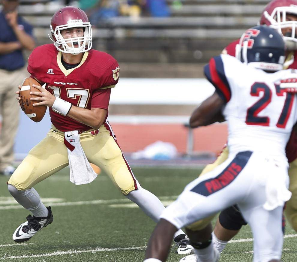 Brother Martin strikes early, holds off John Ehret _lowres