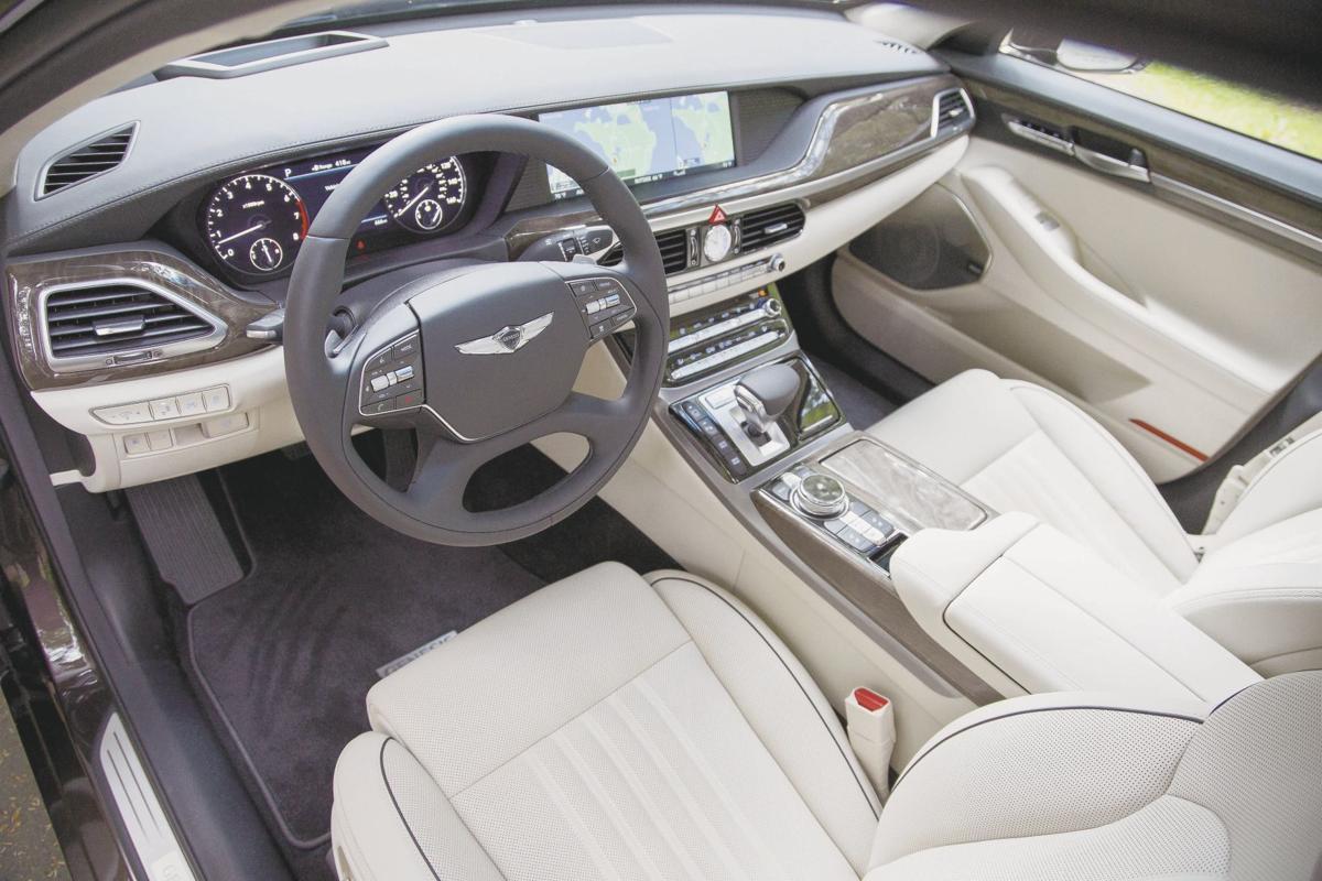 2017 Genesis G90 - Interior