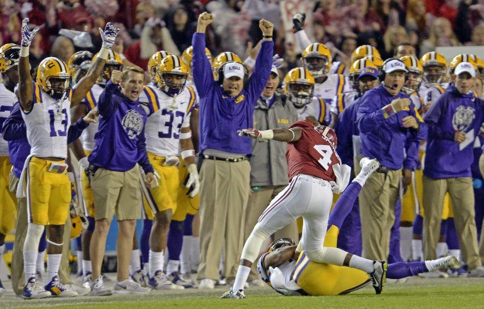 LSU-Alabama football on collision course for another primetime matchup, CBS reveals in scheduling sneak peek _lowres