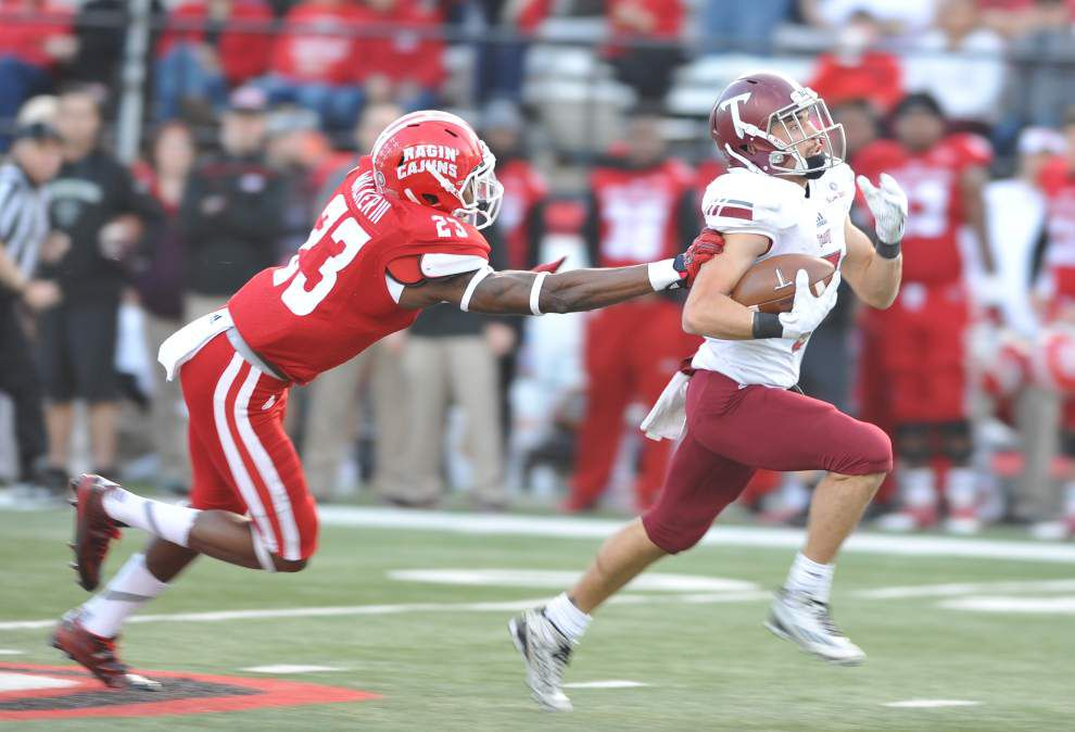 Cajuns' season ends with a thud in 41-17 loss to visiting Troy _lowres