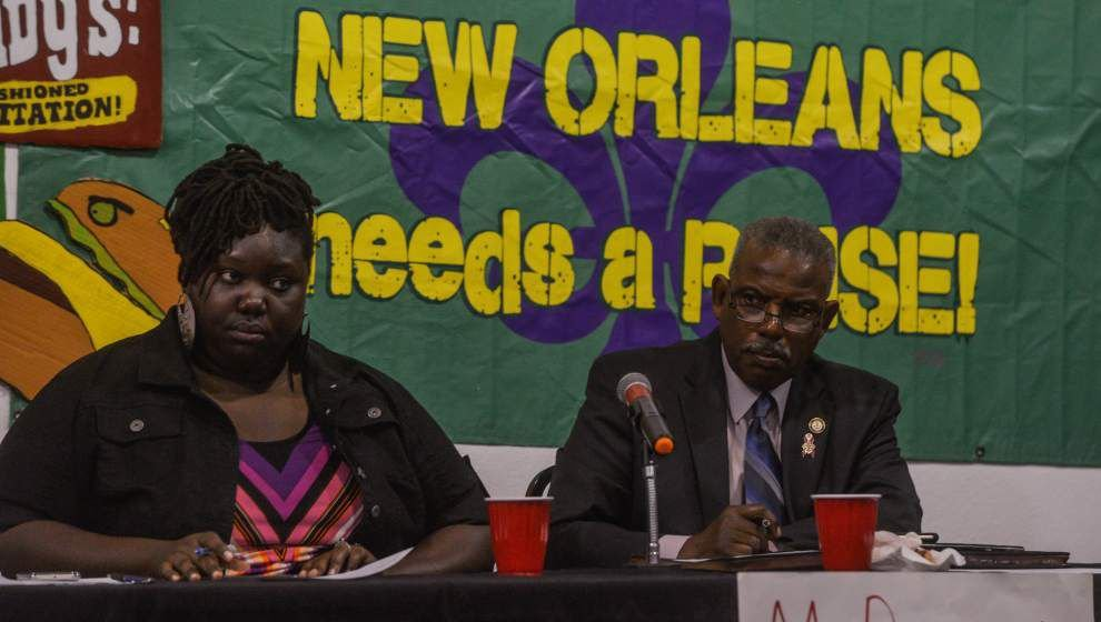 Push for higher minimum wages in New Orleans gets plenty of support from local low-wage workers _lowres