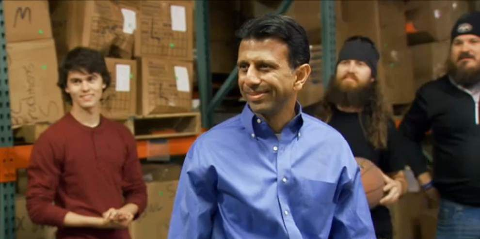 Bobby Jindal: 'Duck Dynasty' star Willie Robertson 'would be a great running mate' _lowres