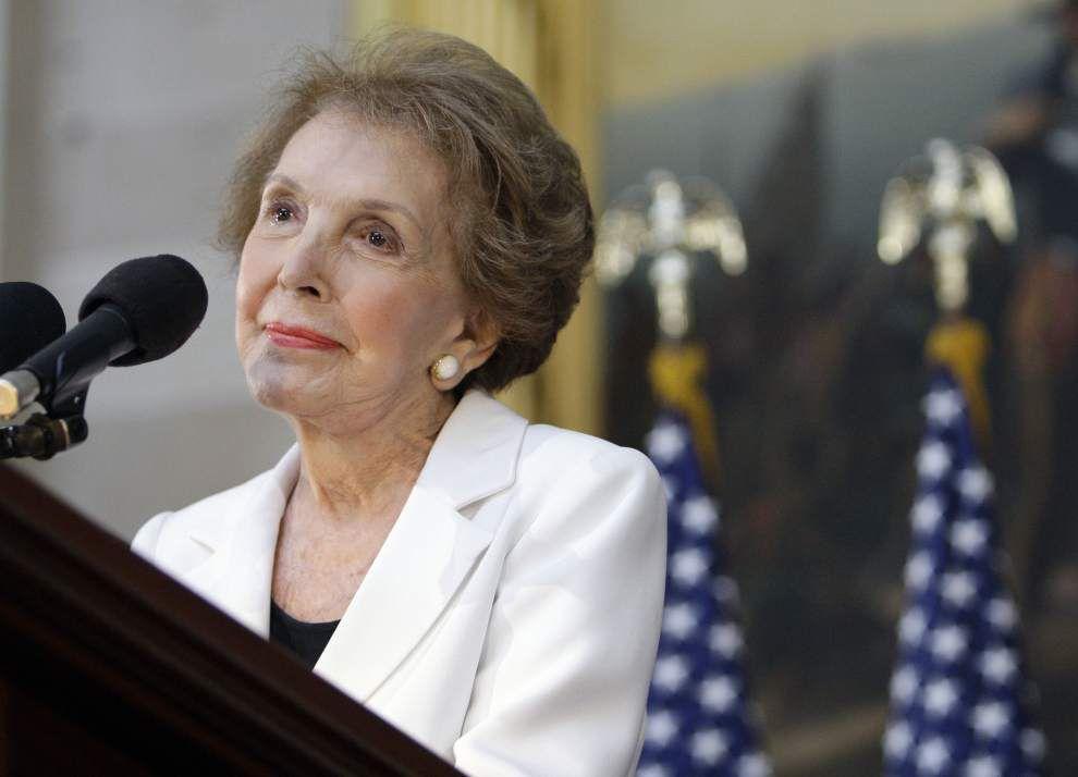 Our Views: Nancy Reagan was an American original _lowres