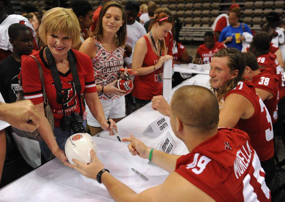 Ragin' Cajun Fan Day: Expectations high this season; coach says, 'We need you loud out there' _lowres