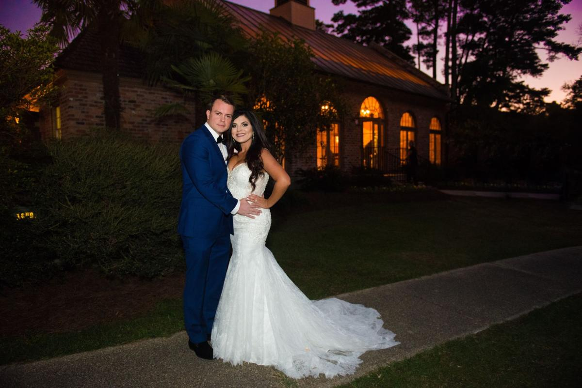 Walker bride who lost it all in august flood gets gorgeous say 20 at the lsu agcenter botanic gardens at burden in baton rouge they lost her original wedding gown their walker home and their original wedding ombrellifo Image collections