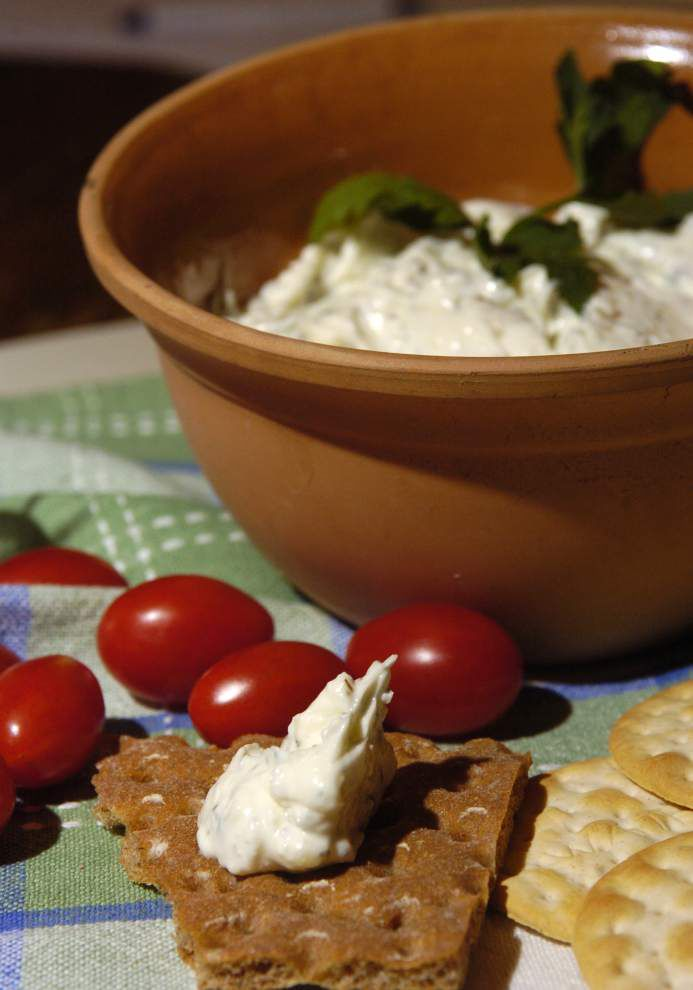 Cheese leads a tempting Greek menu of salads, sandwiches, desserts and wines _lowres