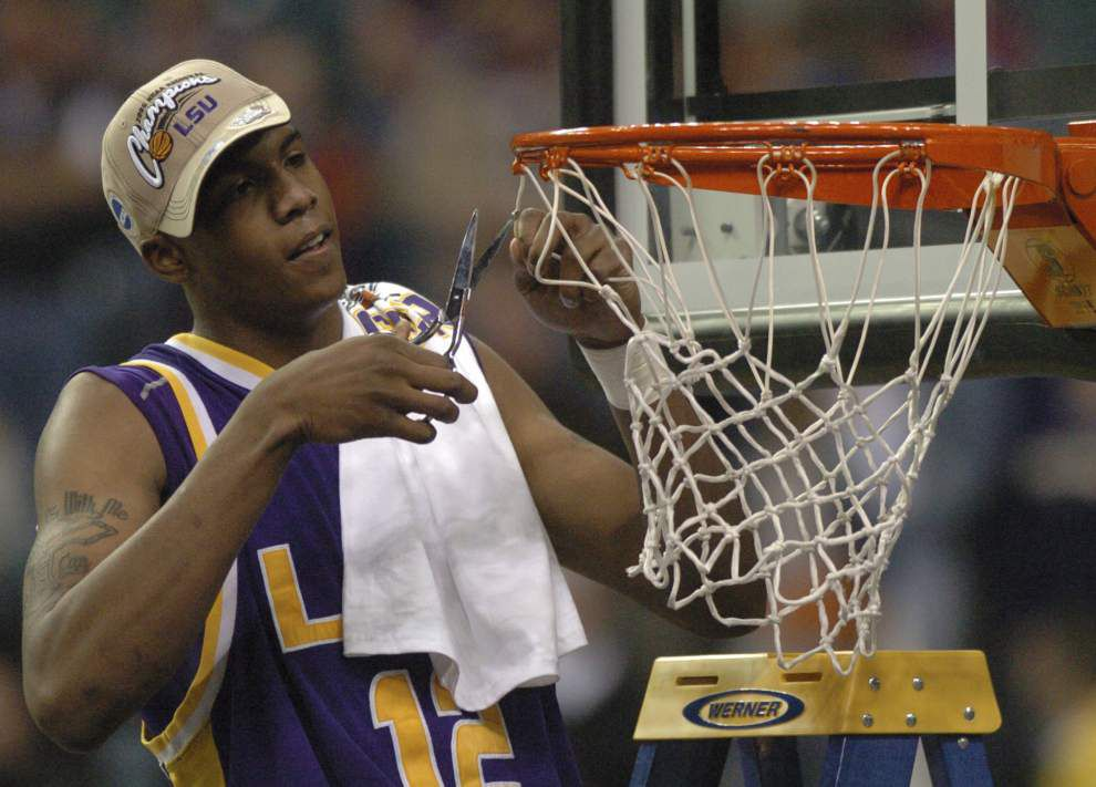 2006 Final Four: Darrel Mitchell's long shot sparked LSU's Indy run _lowres