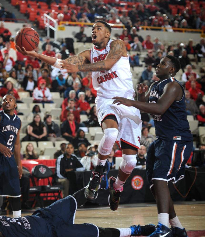 Shawn Long's free throws down stretch crucial for Cajuns _lowres