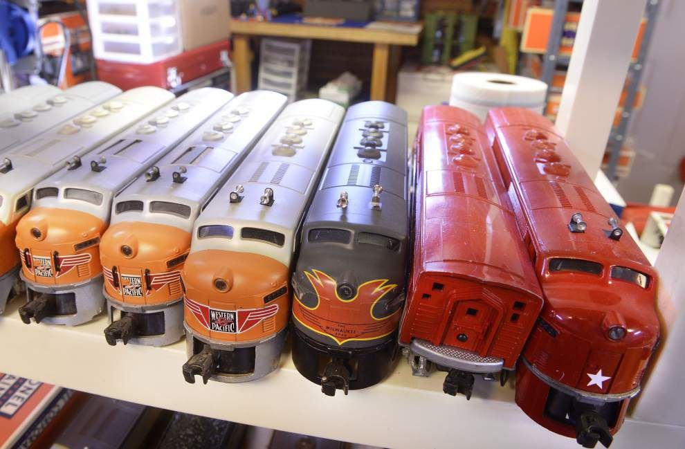 Retired doctor's massive train set is his 'concept of Americana' in the 1950s-60s _lowres