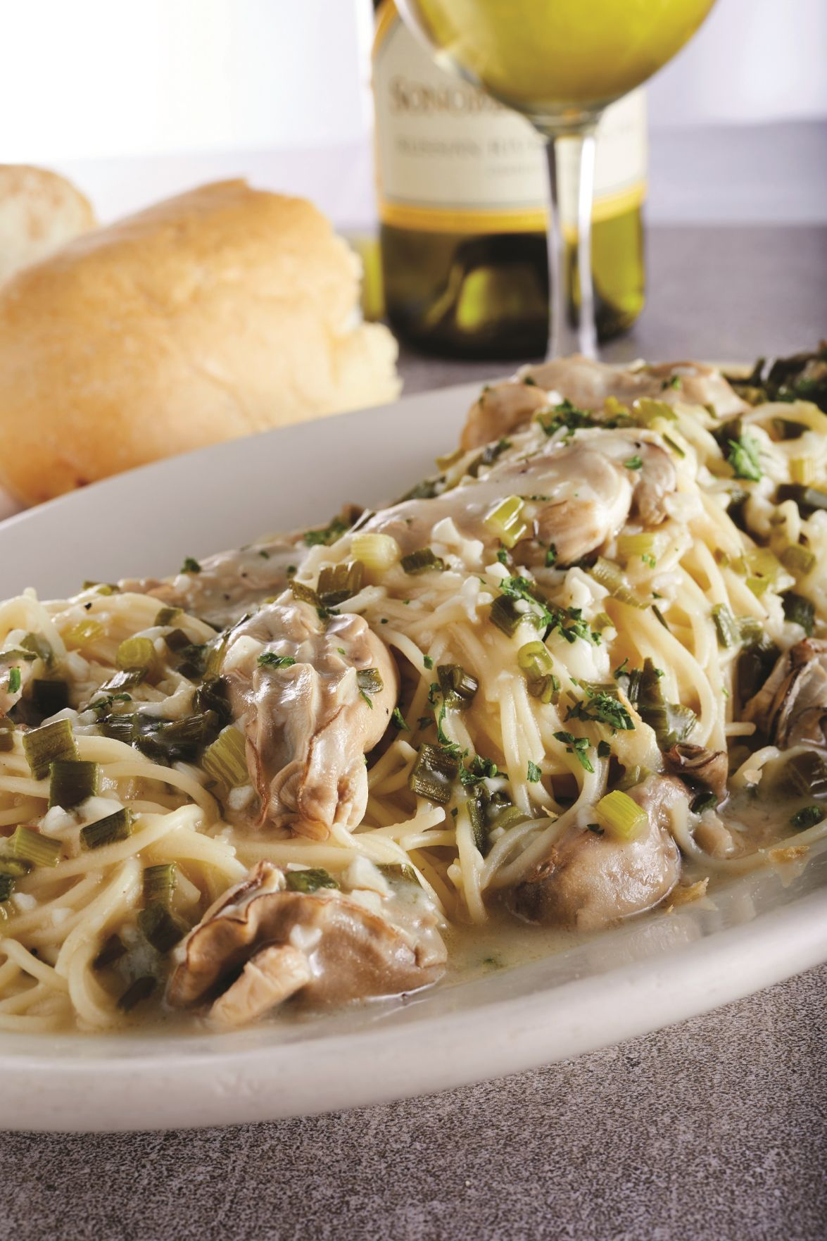 Judy Walker: Recipes for Eggplant Dryades, Oysters and Spaghetti ...