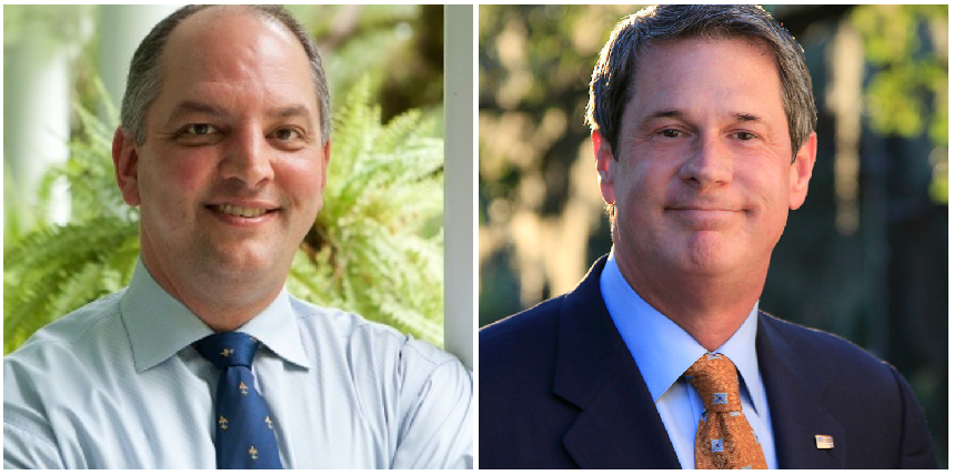 The Louisiana governor runoff: no holds barred between John Bel Edwards and David Vitter_lowres
