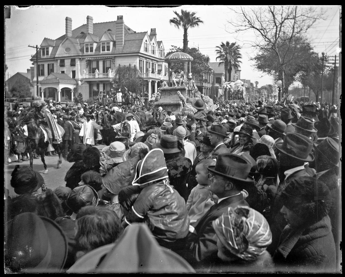 King's float on St. Charles Ave.