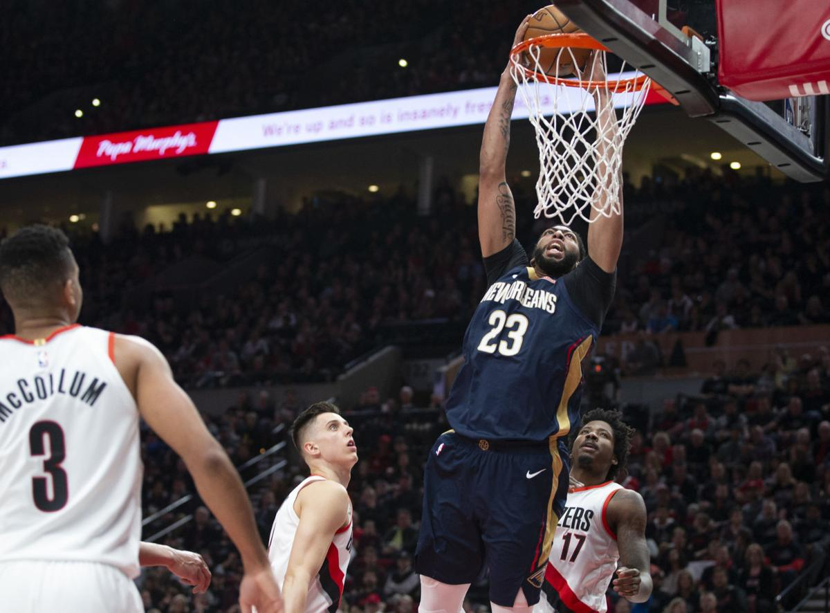 Flying High Pelicans Get Huge Game 1 Win Vs Portland