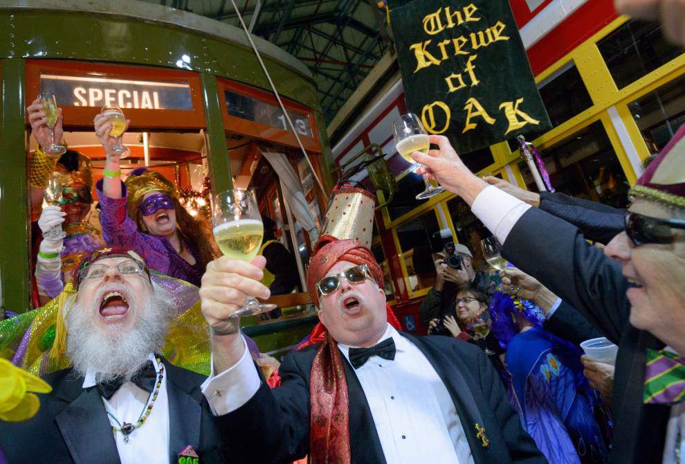 Photos: New Orleans Carnival cranks up with Krewe de Jeanne d'Arc _lowres