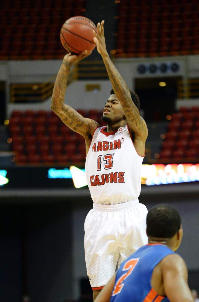 Cajuns' high-scoring offense not getting many 3-pointers _lowres