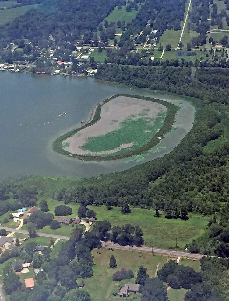 Extension sought for completing work on False River containment dike _lowres