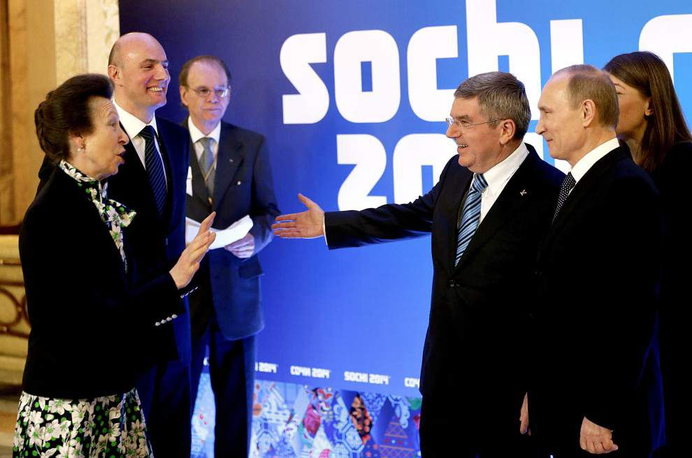 Sochi says 65 world leaders coming to Olympics _lowres