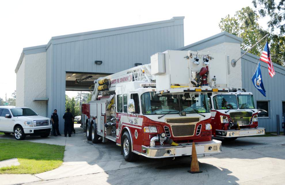 Northside Lafayette fire station back in business after 14-month effort to repair structural problems _lowres