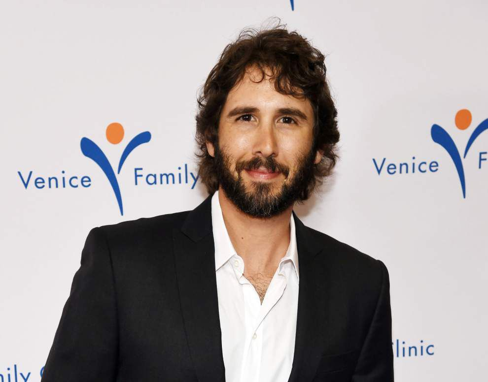 Josh Groban scheduled to play Champions Square July 15 _lowres