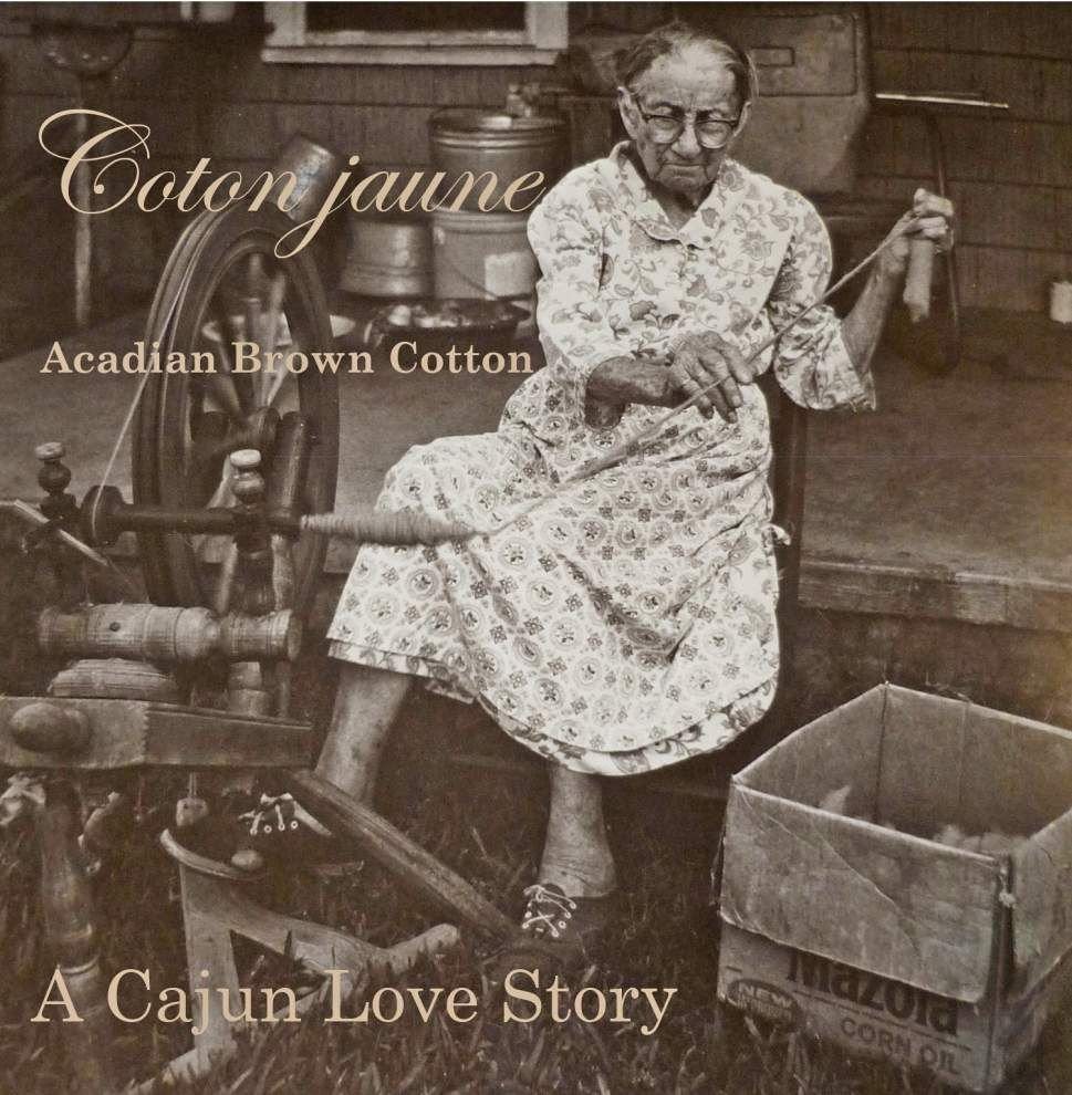 Film explores use of brown cotton in weavings that preserved Cajun culture _lowres