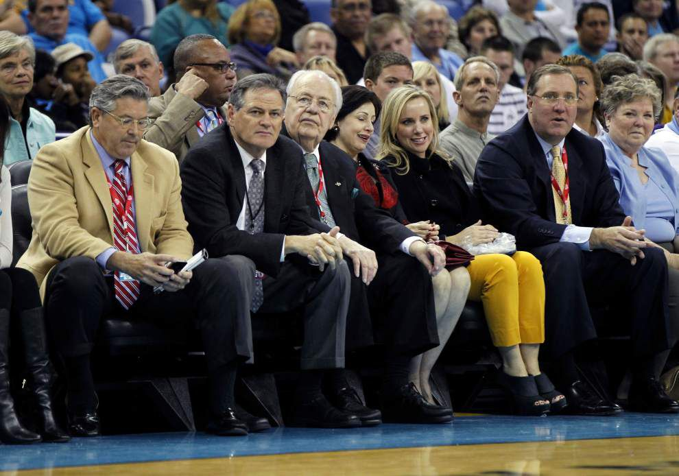 Saints and Pelicans President Dennis Lauscha: Tom Benson's new succession plan ensures teams' foundation of success continues _lowres
