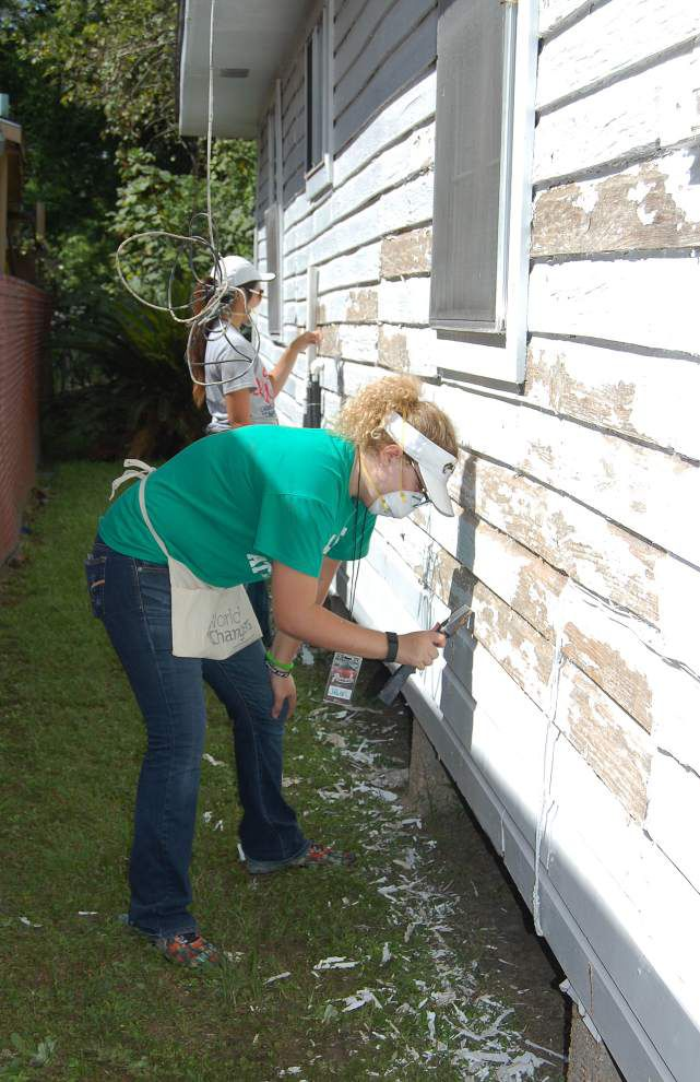 Baton Rouge homes painted as part of 12th annual national youth initiative _lowres