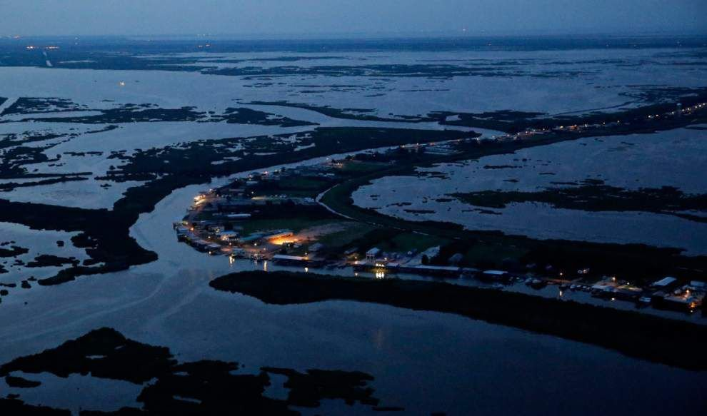 'We're forgotten': Outside New Orleans, Gulf eats away at entire coastal towns, residents' livelihoods _lowres