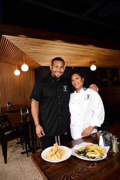 Larry Morrow and Leonora Chong at Morrow's.