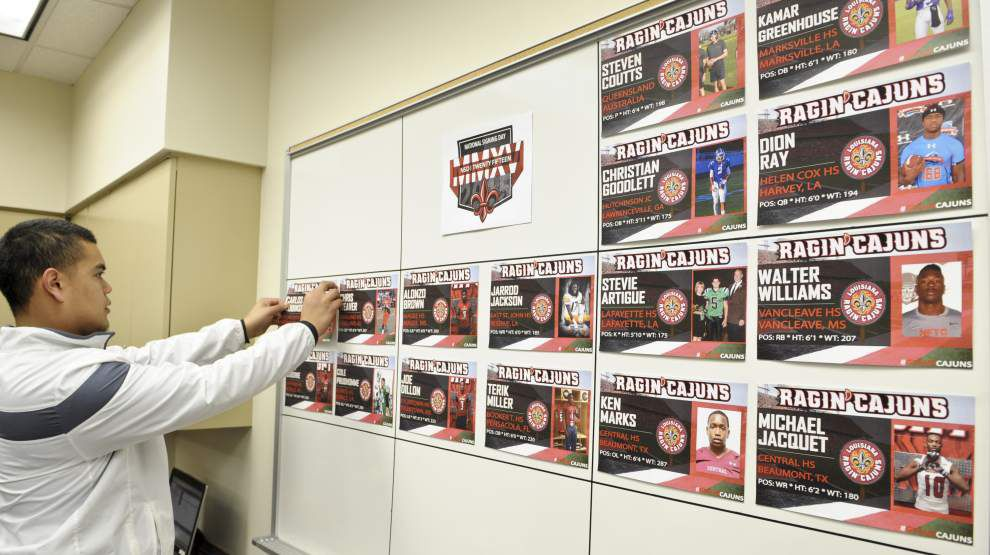 'Tick, tick, freakin' boom, baby!' — inside National Signing Day with the Ragin' Cajuns _lowres