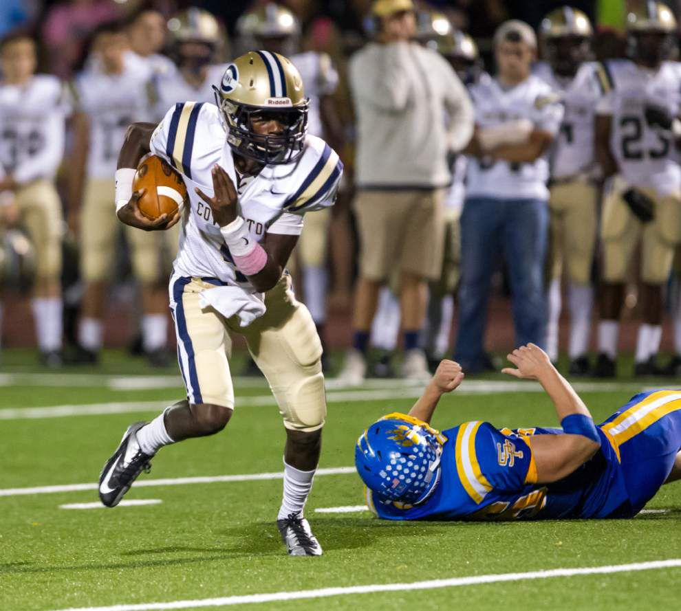 Covington's Marquell Hollins commits to Nicholls State _lowres