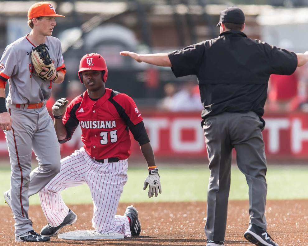 On the Marks: Sophomore shuts down Sam Houston State, and the Ragin' Cajuns' bats awake from their slumber in a 6-2 victory _lowres