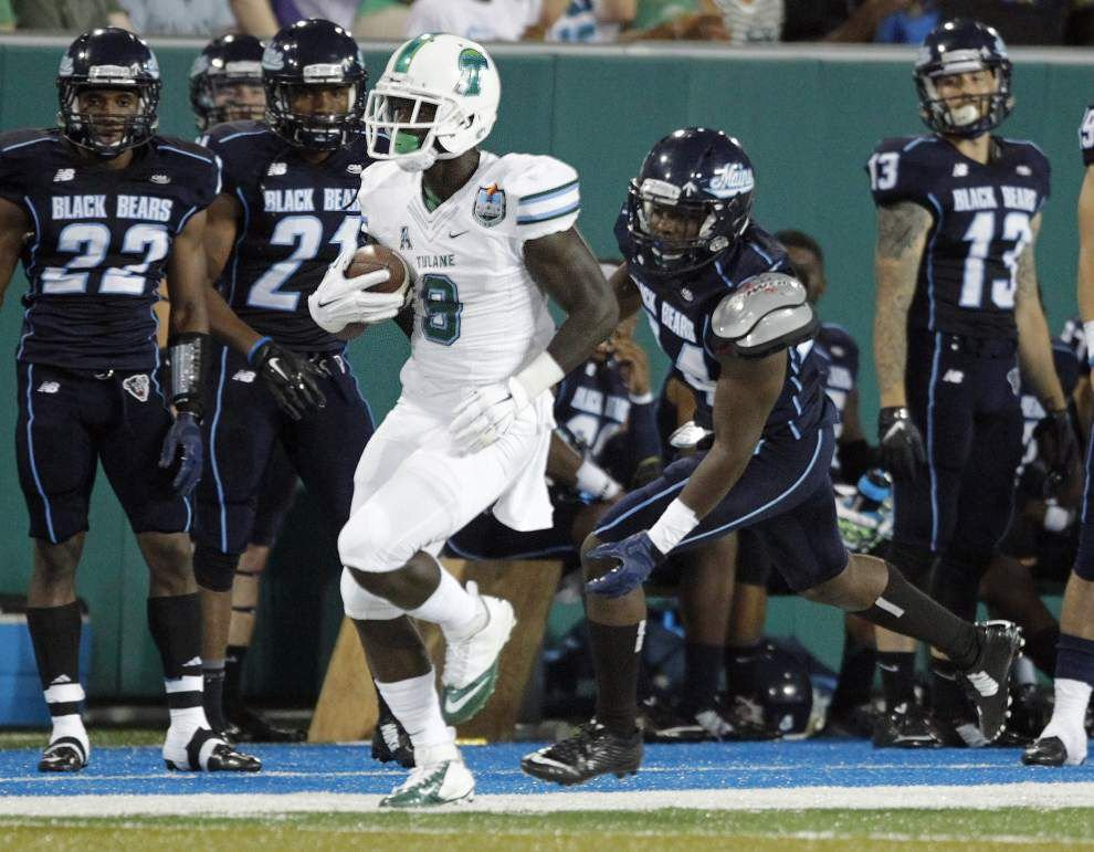 Ted Lewis: Tulane had to have this game against Maine, and the Greenies got it done _lowres