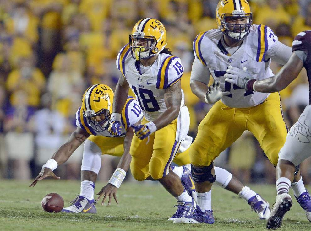 Video: LSU offensive tackle Vadal Alexander says Tigers have to execute better offensively _lowres