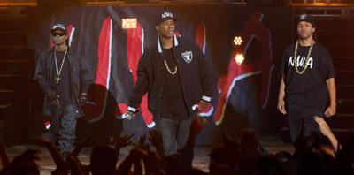 'Compton' stays straight, again leads box office with $26.8 million _lowres
