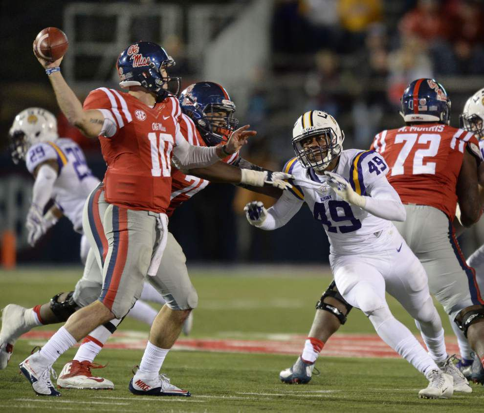 LSU Film Room: A look at Rebels' big offensive plays; video breakdown of LSU penalties _lowres