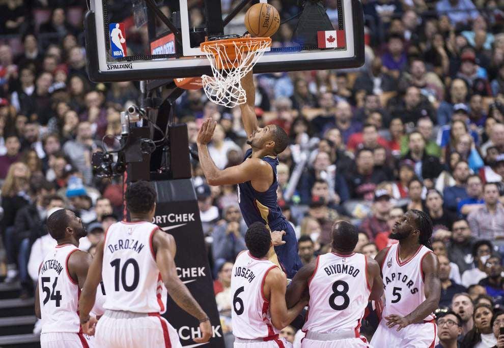 Following 100-81 loss in Toronto, Pelicans' Alexis Ajinca on Paris attacks: 'It's just unfair' _lowres